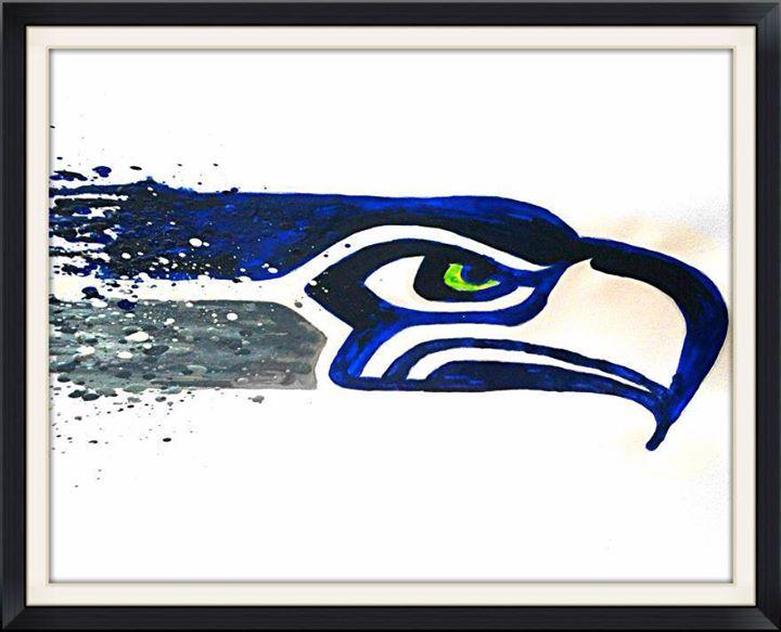dcdbfaa9b Seahawks Logo · Melting Miltons · Online Store Powered by Storenvy