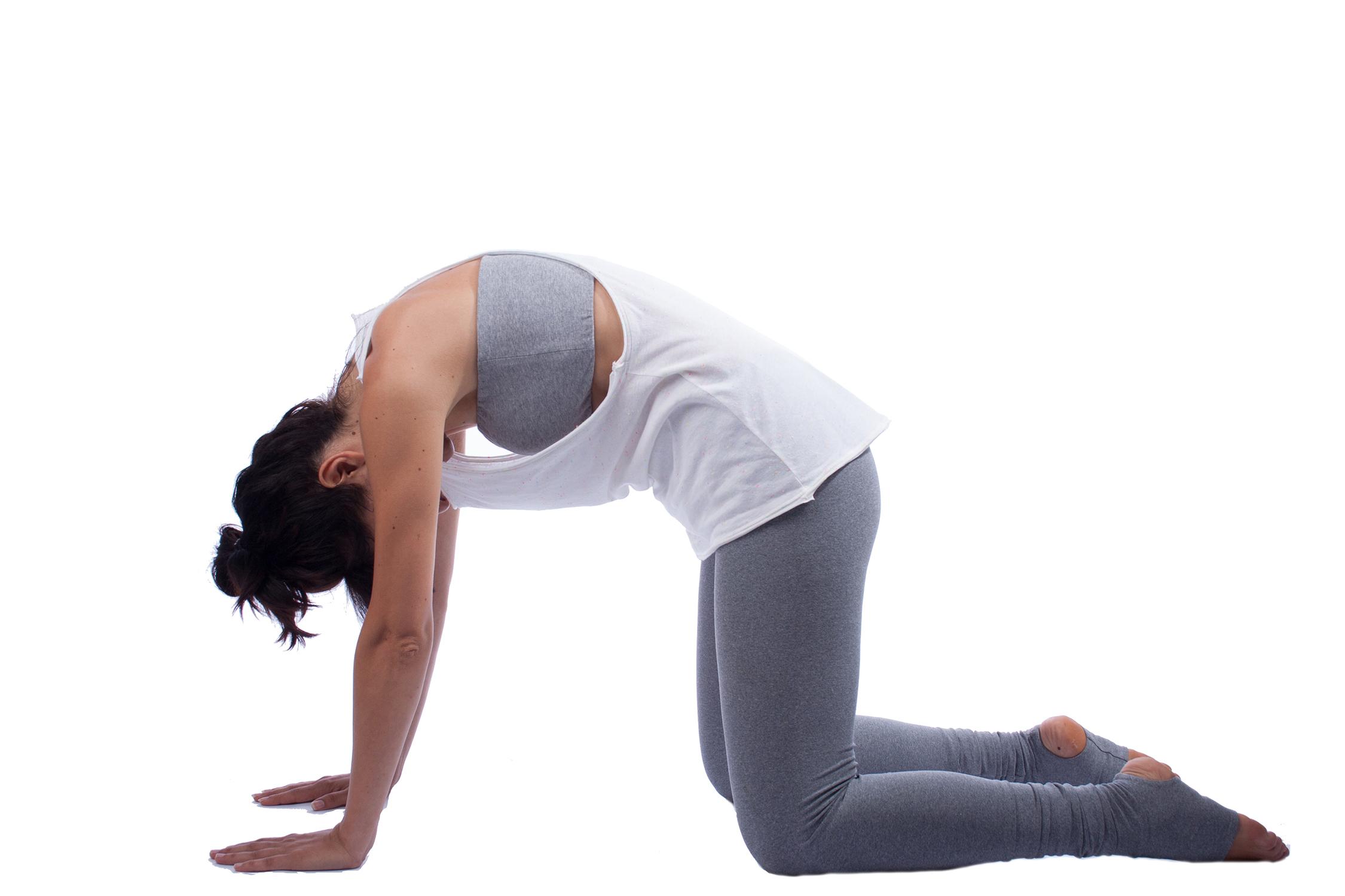 7d5f3ab25668fd ... Organic Cotton Yoga Vest - Loose Racerback Yoga Tank - Candy Sprinkled  White Yoga Top ...