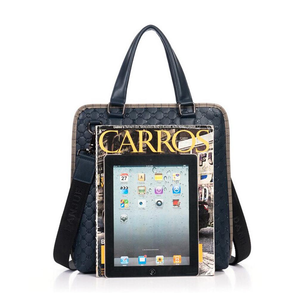 2fc2ff138659 ... Men s Cowhide Leather Workbag Shoulder Messenger Crossbody Bag 12