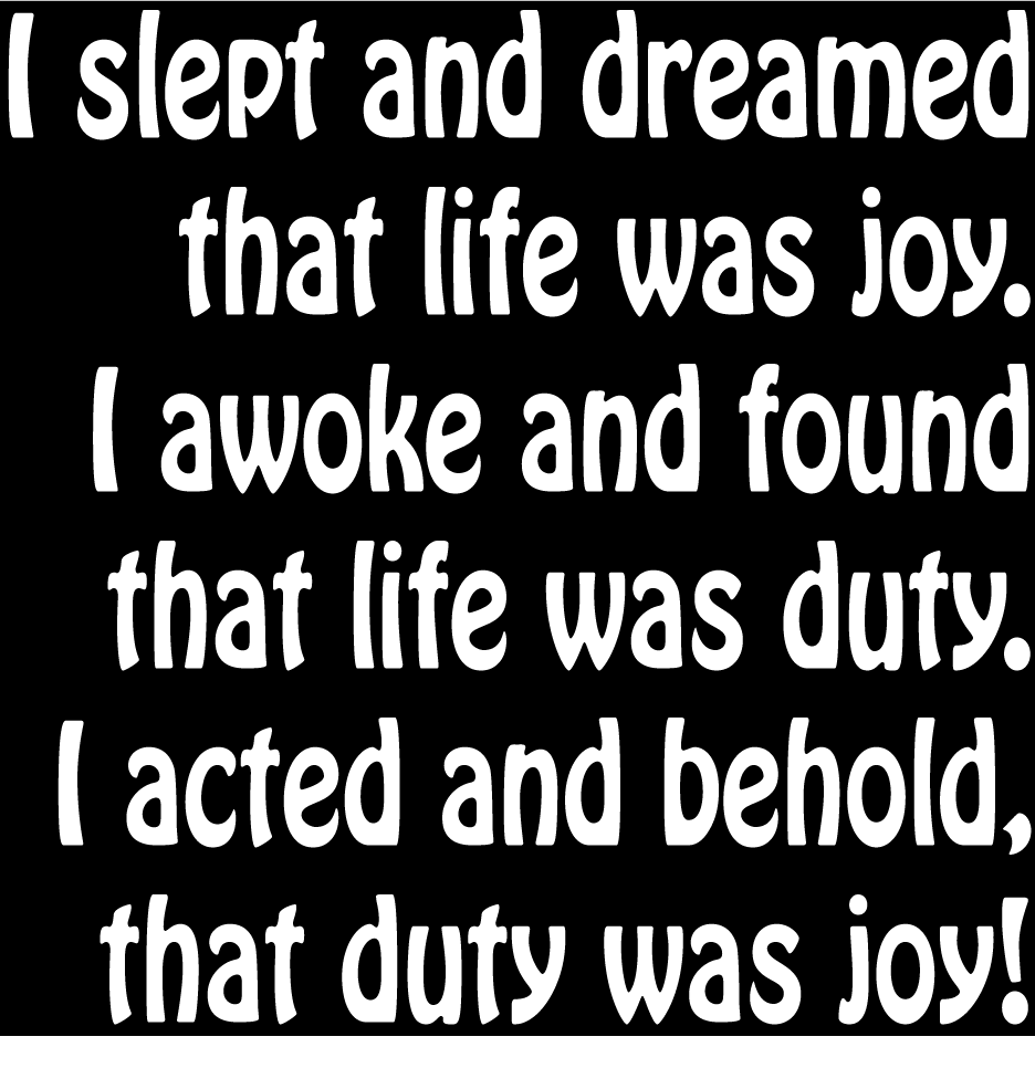 """Quotes About Joy In Life: """"Life Is Joy"""" Wall Quote"""