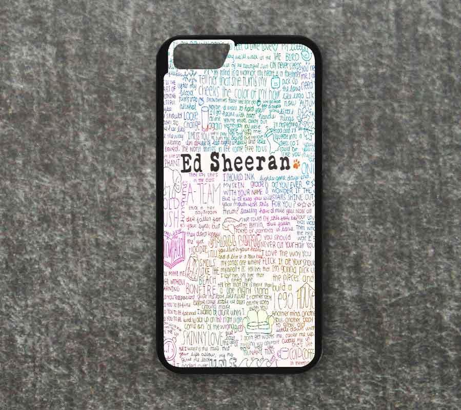 Ed Sheeran Quote Lyrics Iphone Case Iphone 6 6 Plus 5