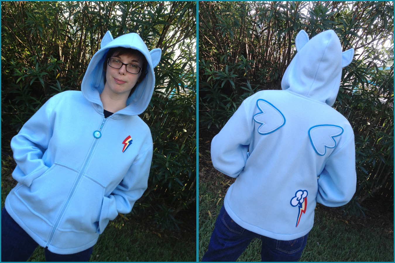 Mlp Cosplay Hoodie 2xl 4xl Custom Made To Order My