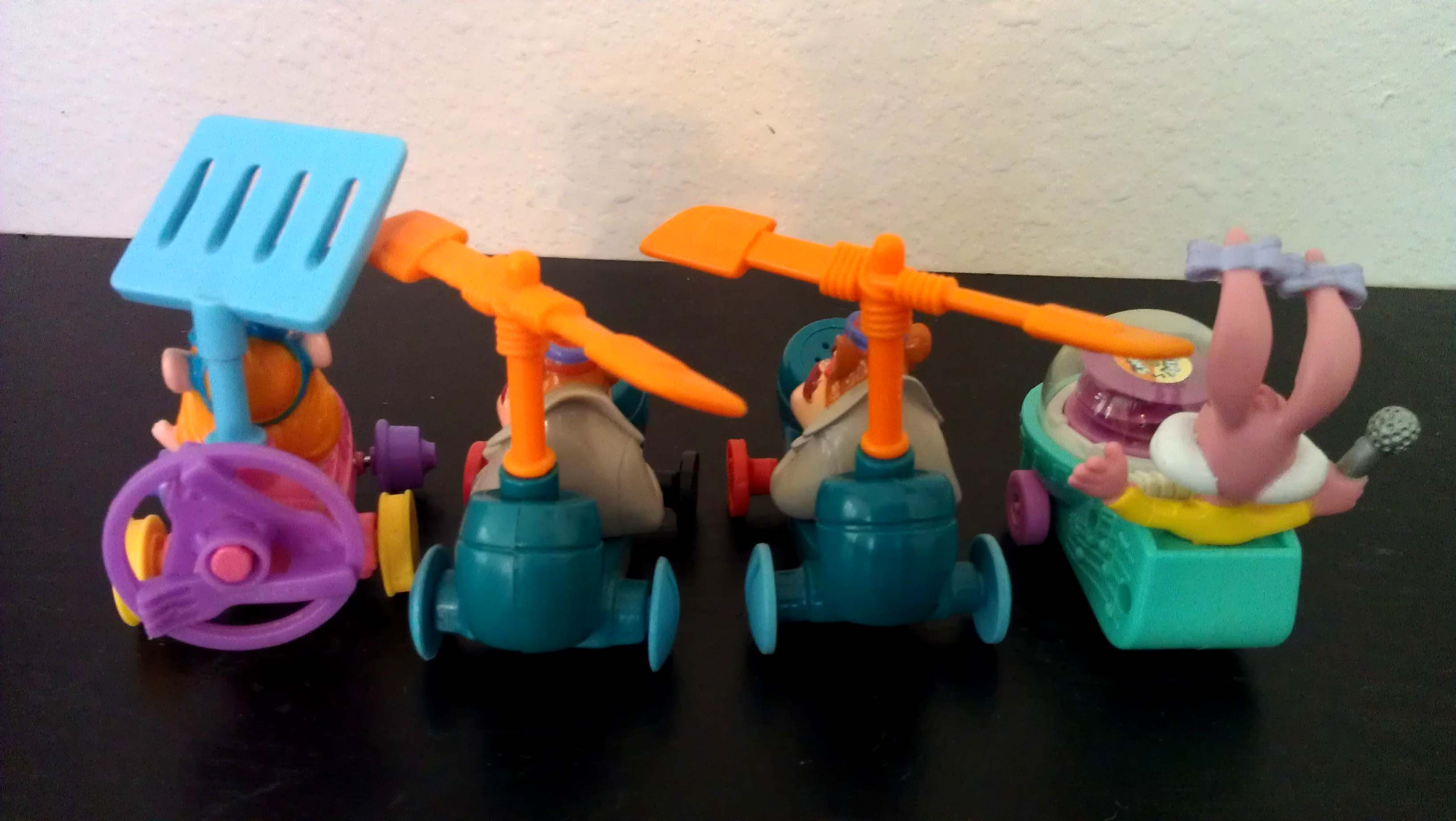 free ship rescue rangers toy cars mcdonald s toys tiny toon