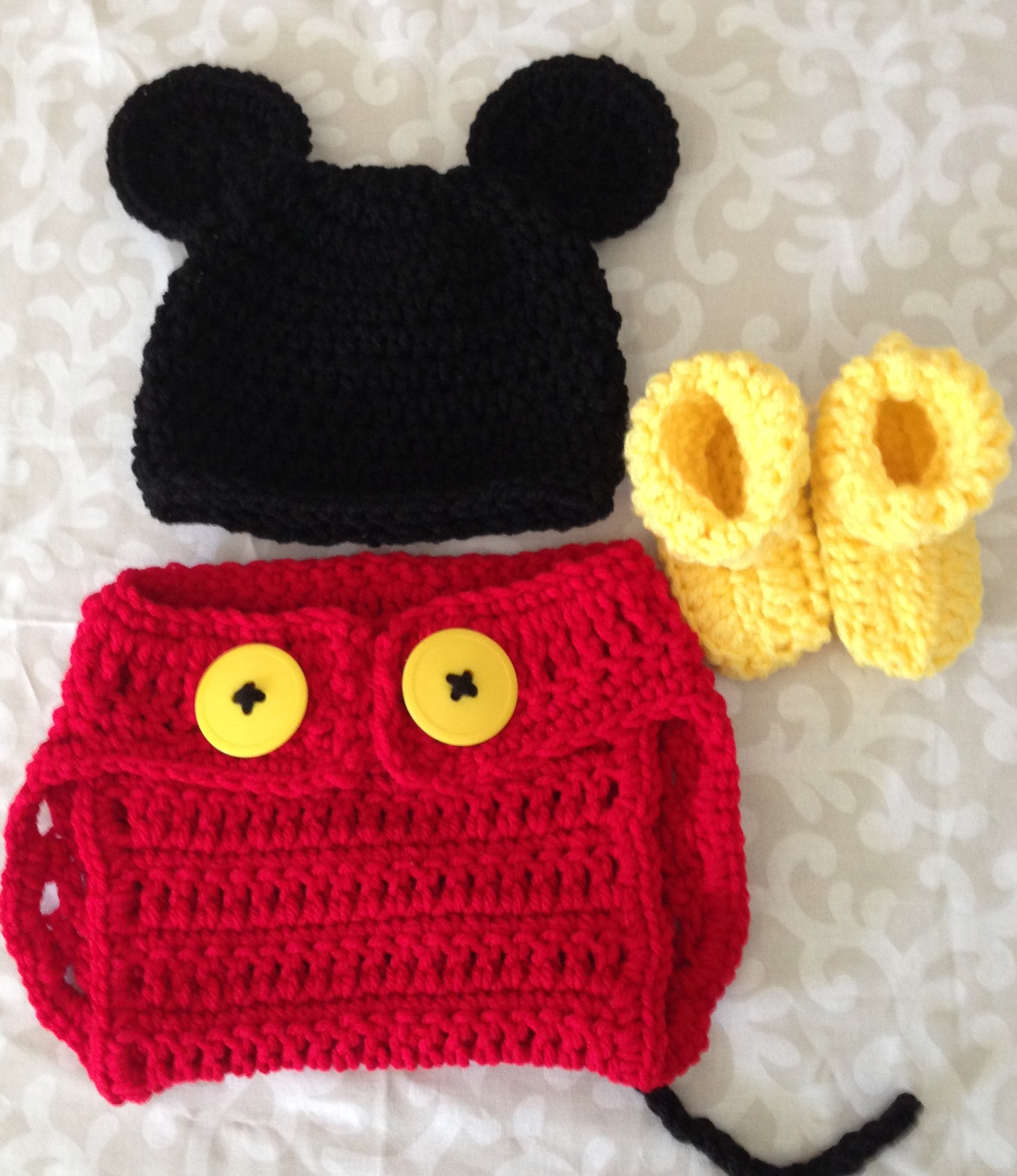 Baby Diaper Cover Set Mickey Inspired On Storenvy