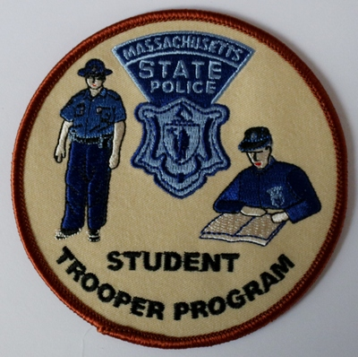 Massachusetts state police clothing store