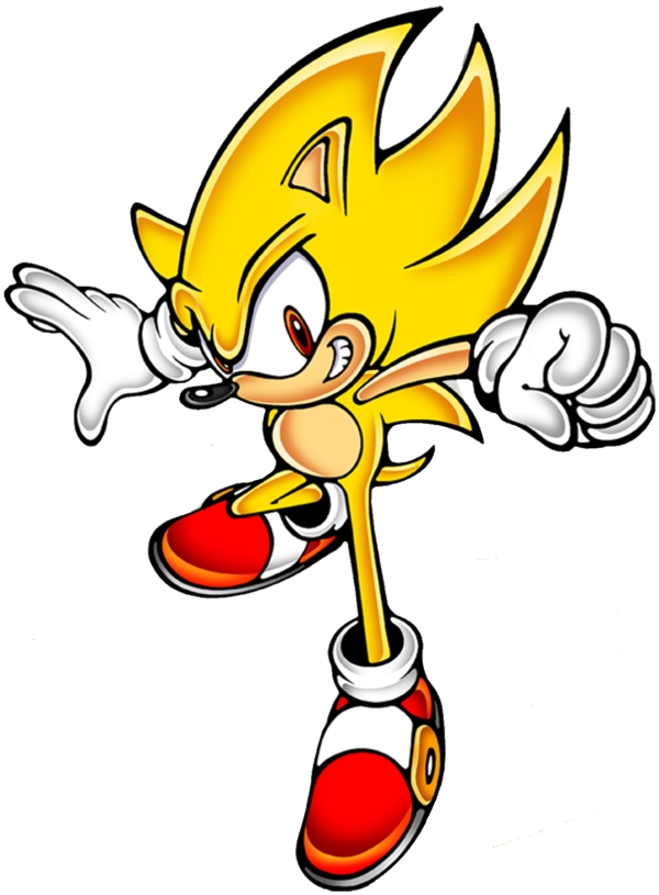 Sonic Hedgehog Super Sonic Iron On Heat Transfer 6 X 8 Sold By Alfies Designer Shoppe On Storenvy