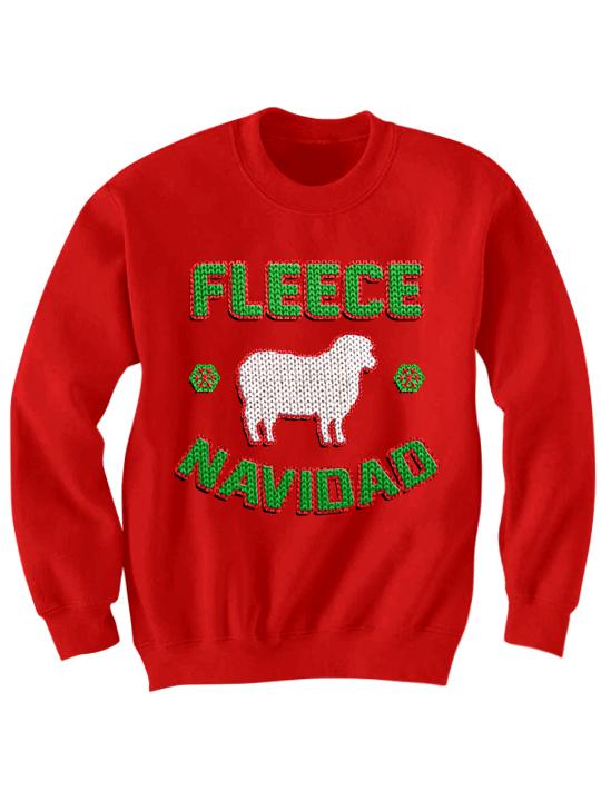 Christmas Fleece.Fleece Navidad Christmas Sweater Merry Christmas Funny Shirts Birthday Gifts Christmas Gifts Christmas Holidaydeals Greatgifts Sold By Celebrity