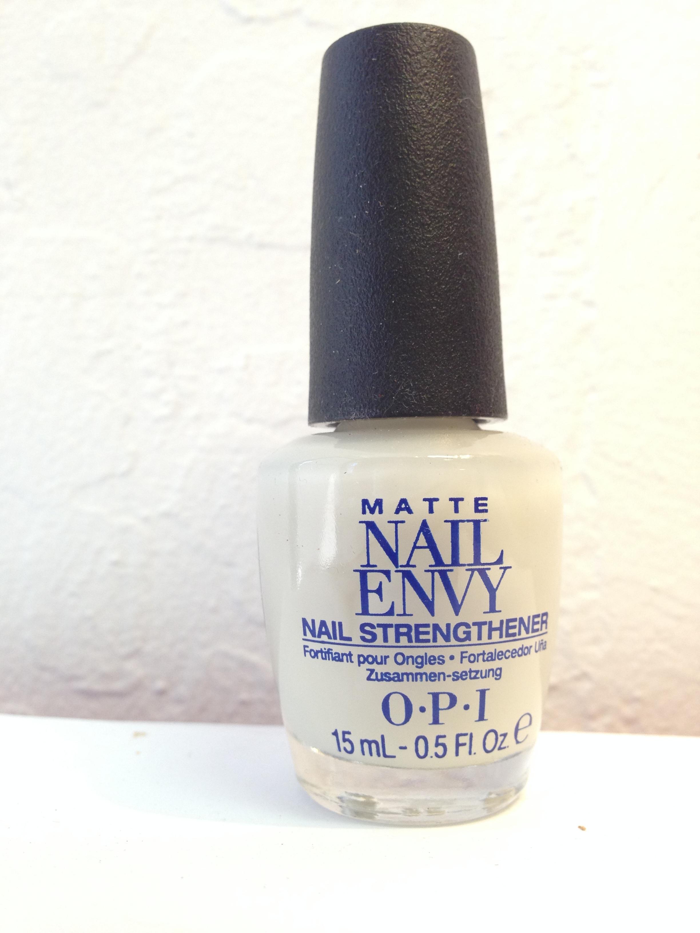 OPI - Matte Nail Envy Nail Strengthener · My Little Pretties ...