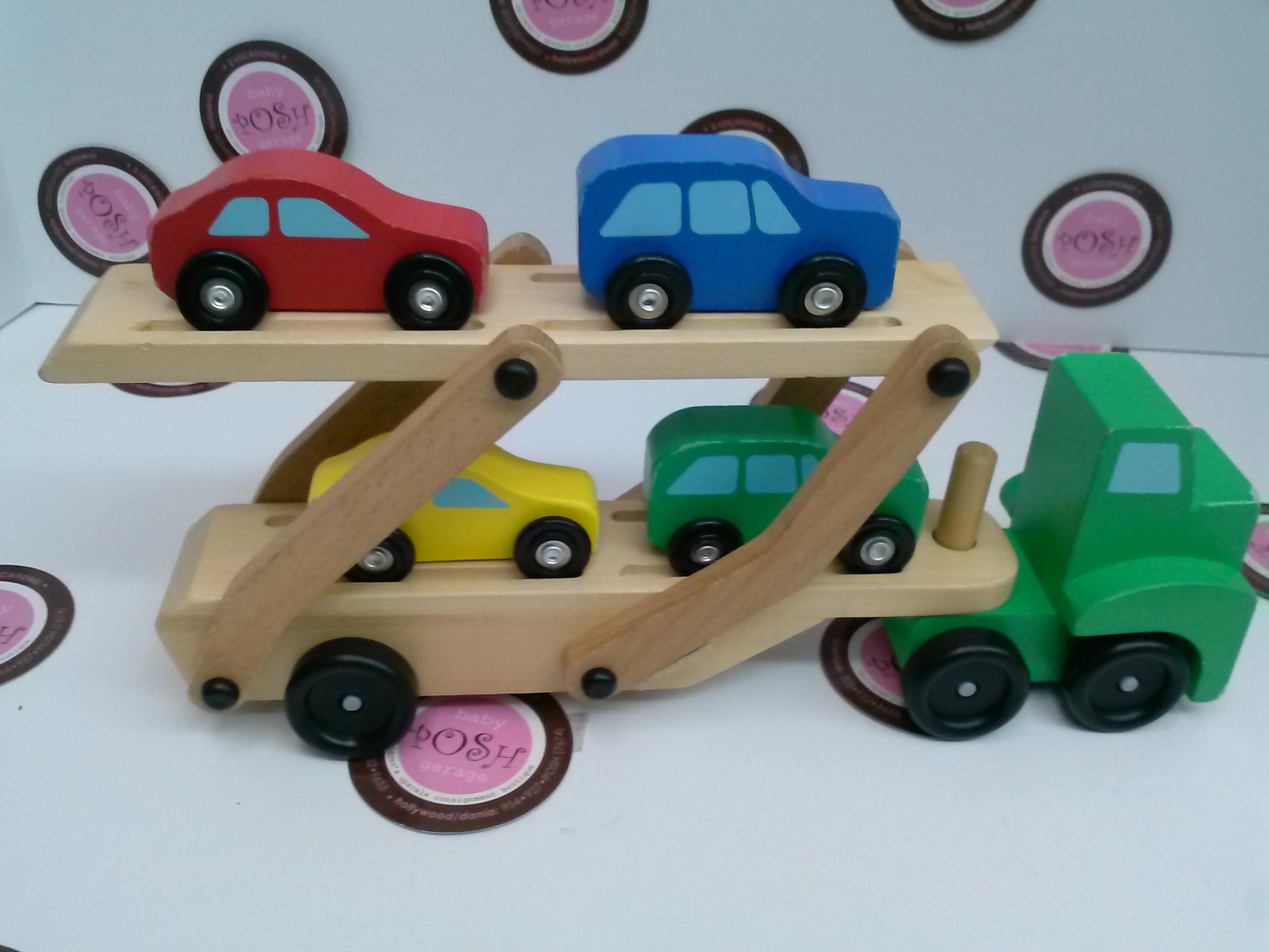 Melissa And Doug Car Carrier Baby Posh Garage Online