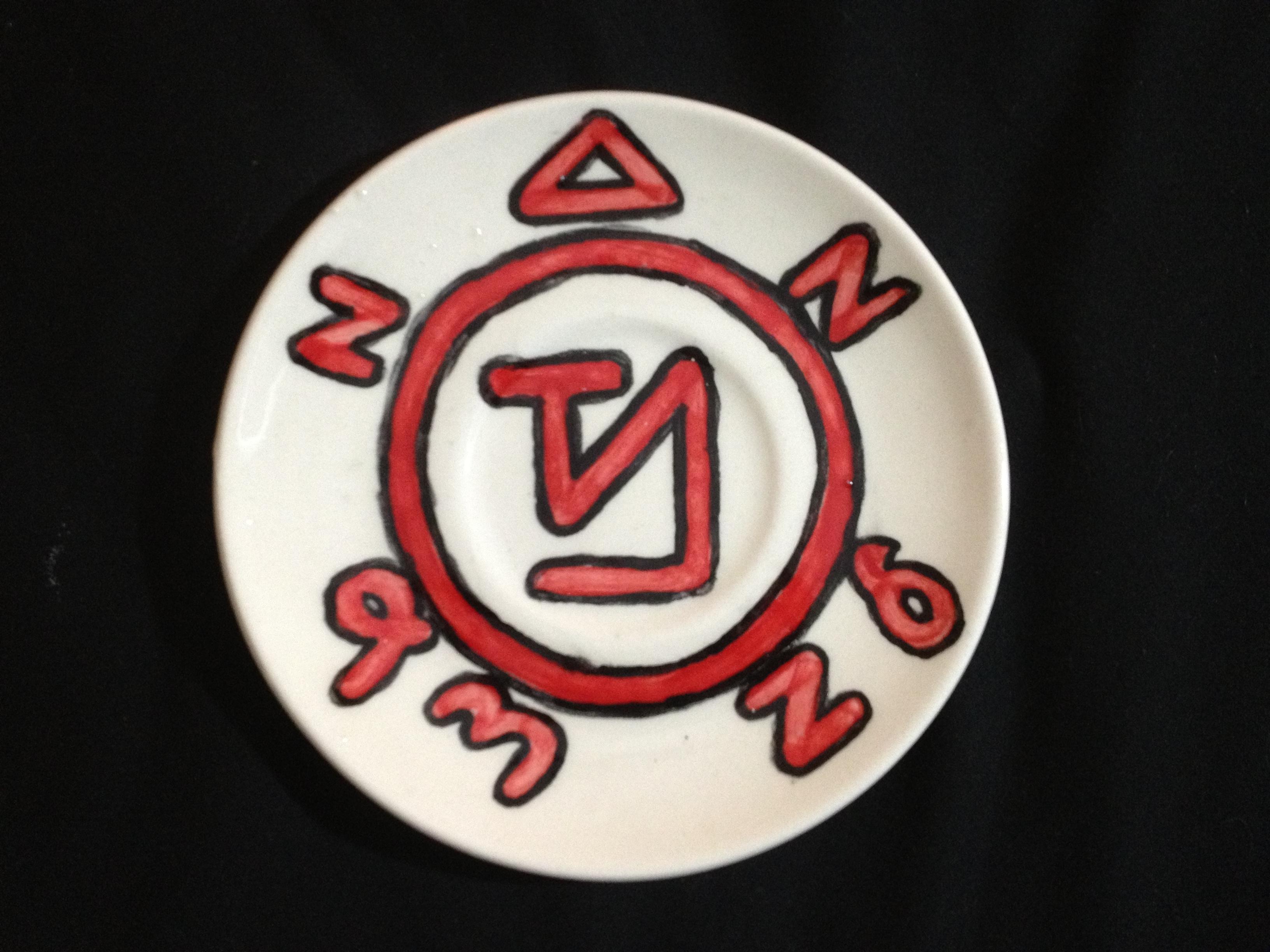 Angel banishing symbol plate custom order on storenvy 025original biocorpaavc Images