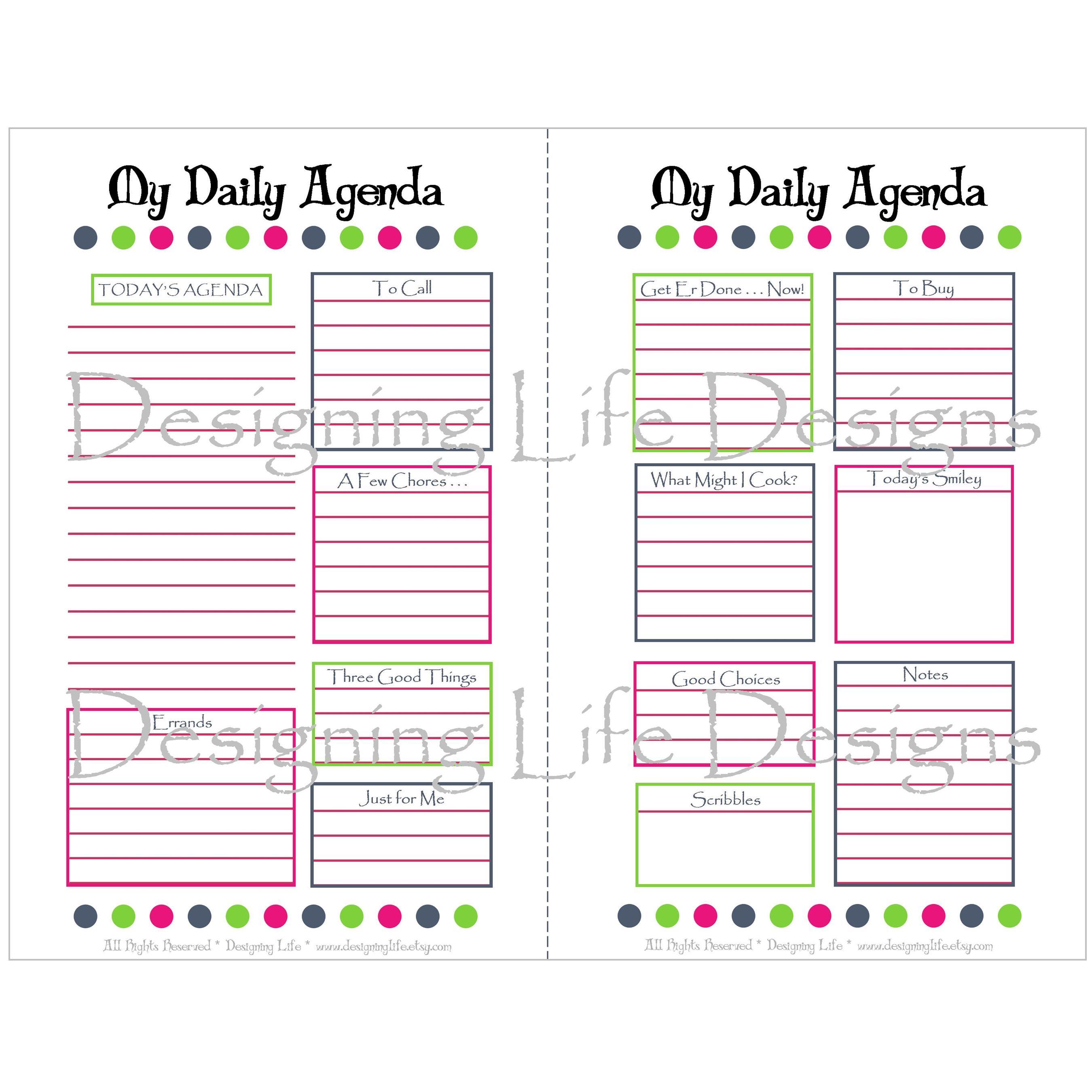 daily calendar sheets thevillas co