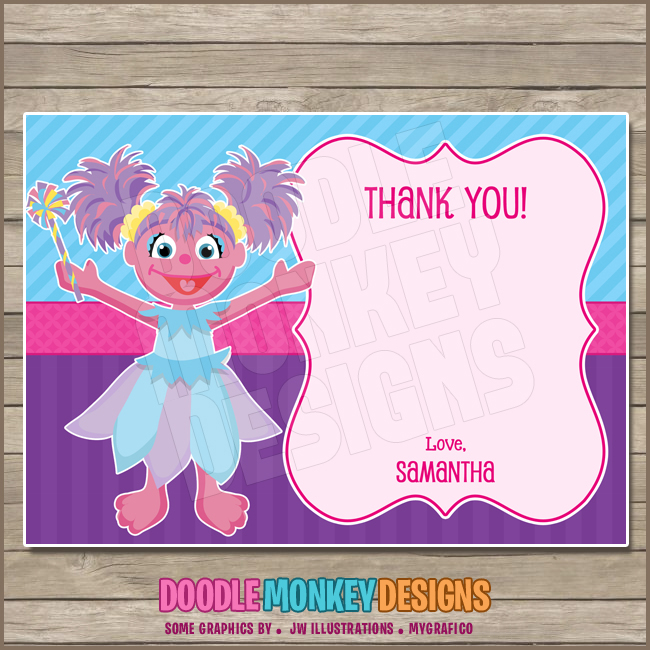 Abby Cadabby Party Invitation Diy Printable Digital Invite From Doodlemonkeydesigns