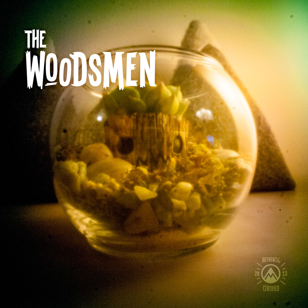 The Woodsman Mini Planter Hand Painted Ohnodoom Online