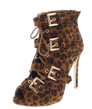pretty nice 85e4c 5e44f Betty Gold Booties Leopard from Amira Chic Boutique