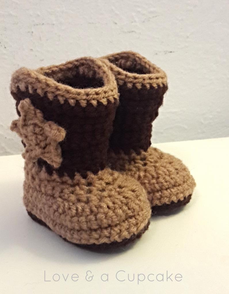 Crochet Cowboy Boots You Choose Size And Color Free Shipping On