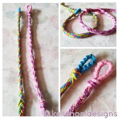 Diamonds Kumihimo Bracelet Kella Noel Designs Online Store