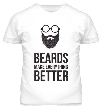 a3743e90 Beards Make Everything Better T Shirt · Original James Tee · Online ...