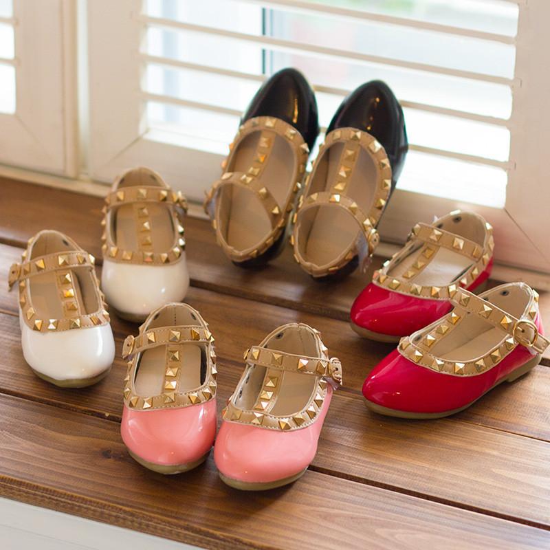Rock Studs Studded Flats Girls Shoes Toddler Shoes Girls Flats