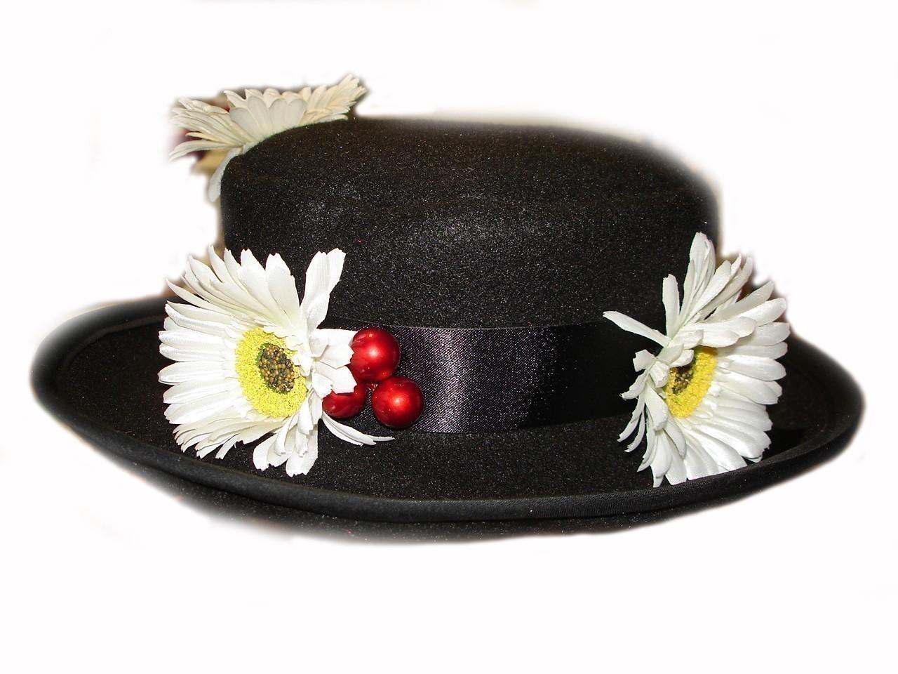 Custom Boutique Mary Poppins Nanny S Black Hat On Storenvy