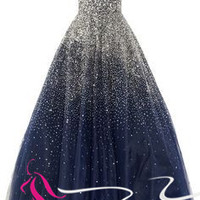 quinceanera dresses ball gown prom dress with sequins