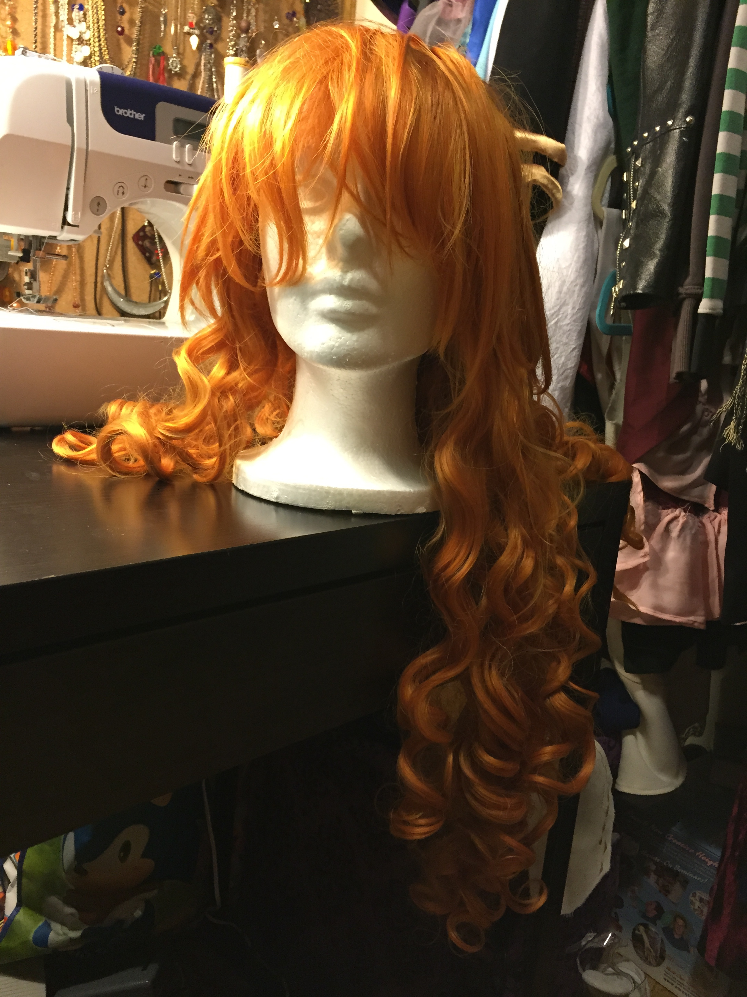 Orange Long Curly Wig (Ebay) · NekoNami Cosplay · Online Store ... 765f87bbf