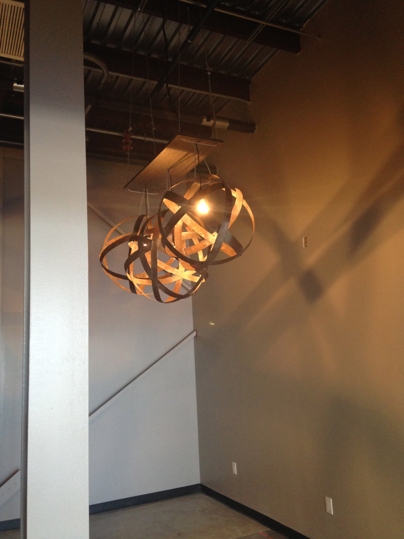 metal orb light modern light fixture industrial ceiling lighting