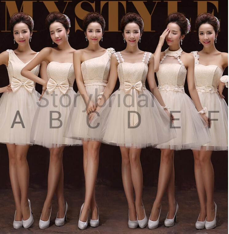 500aa91b92ea Mismatched bridesmaid dress,short bridesmaid dress, Chiffon ...