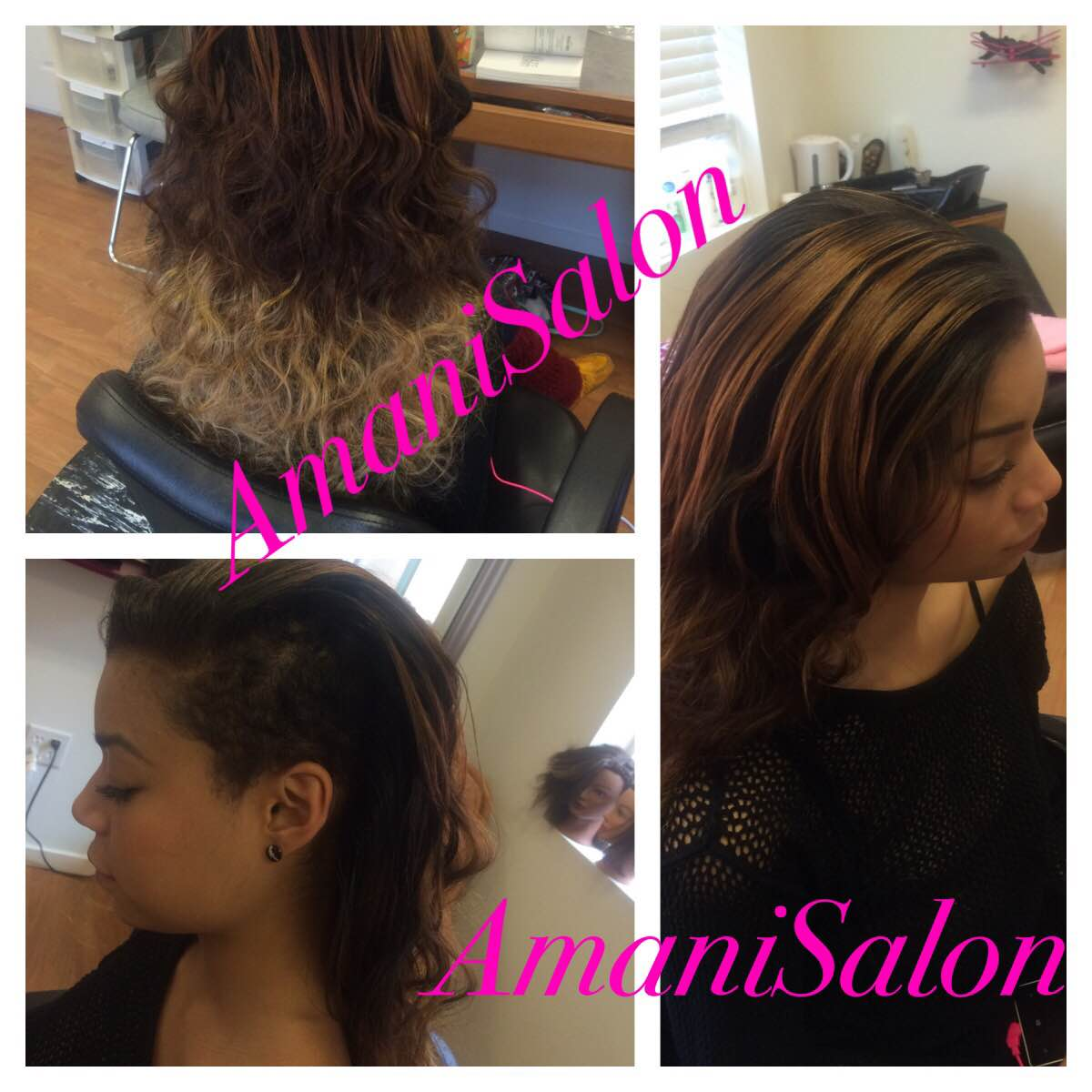 Half sew in weave hairstyles hair partial sew in weave sewin and hair braiding online jeuxipadfo Images