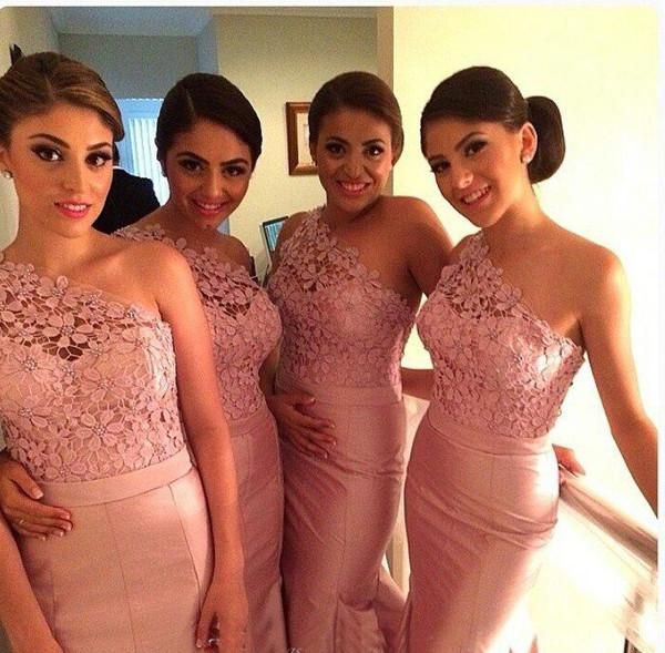 Glarmours Bridesmaid Dresses ,2015 bridesmaid dresses, One Shoulder ...