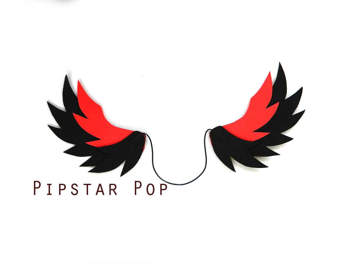 Black And Red Devil Pegasus Winged Horse Costume Little Pony Or Phoenix Cosplay Wings For All Ages Sold By Pipstarpop On Storenvy