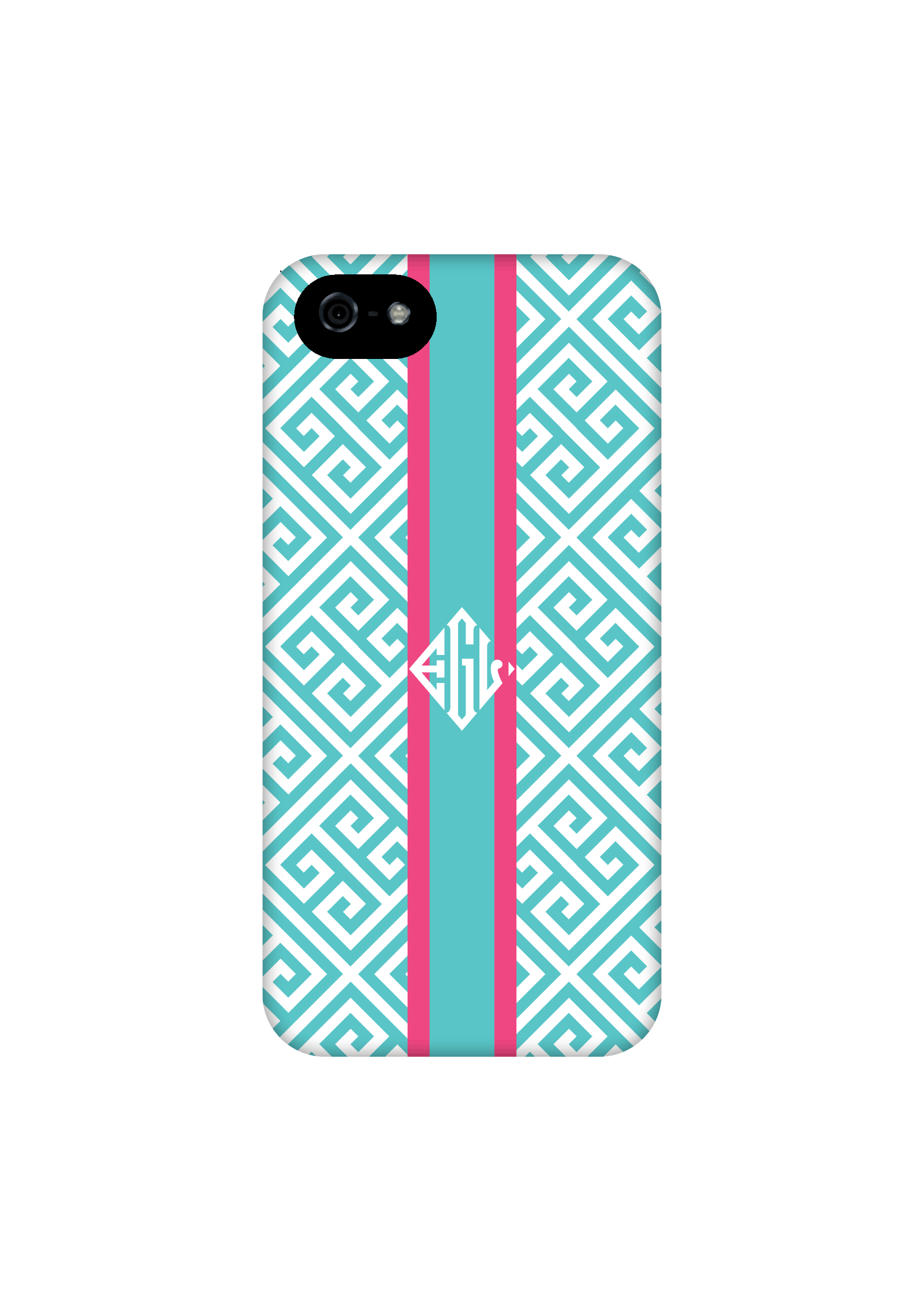 brand new 28102 41922 Aqua greek key monogram iPhone 6 case, custom iPhone 5c case, iPhone 5s  case, monogrammed iPhone case, iPhone 4s case, iPhone 6 plus c