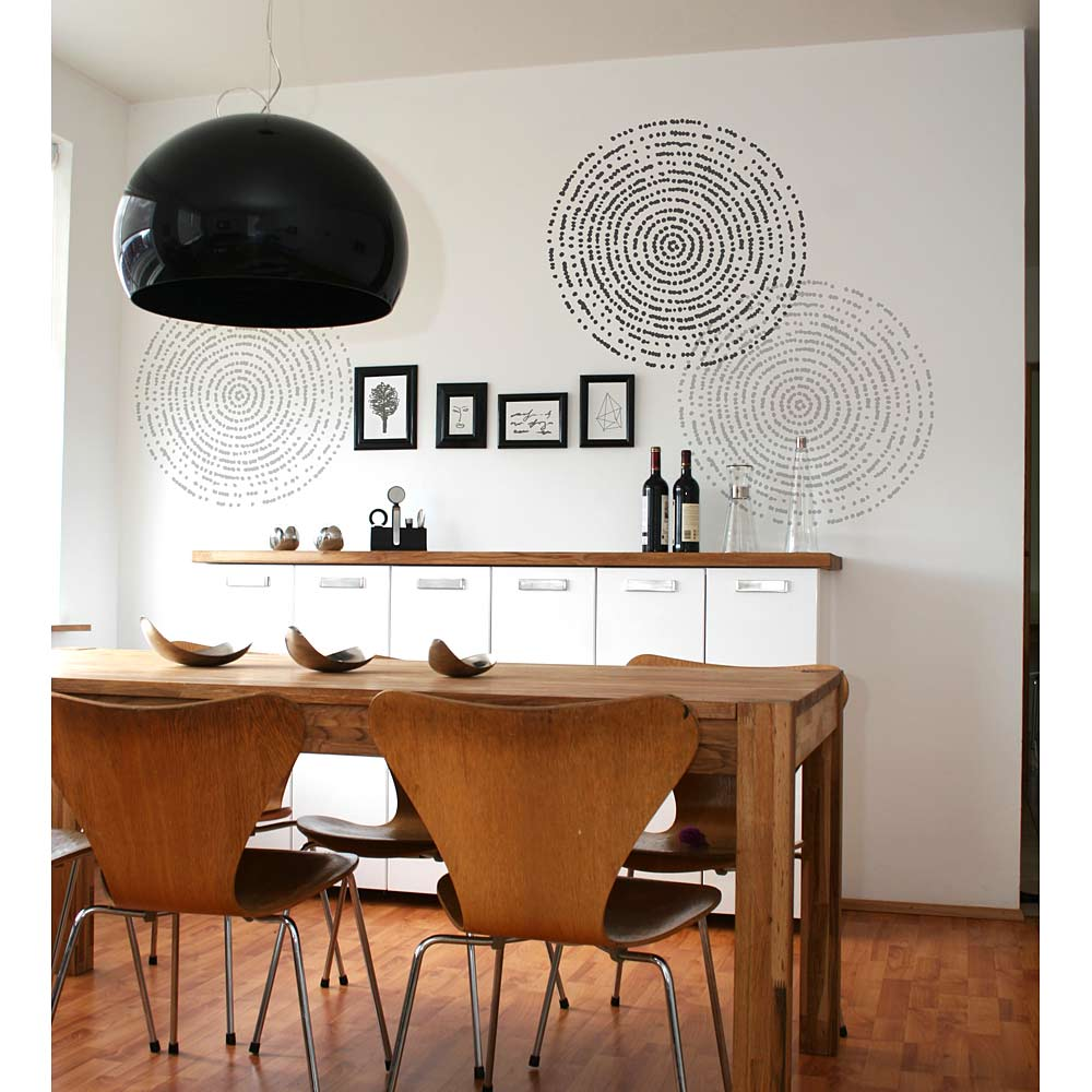 Resonance Wall Art Stencil - DIY home décor - Easy DIY ...