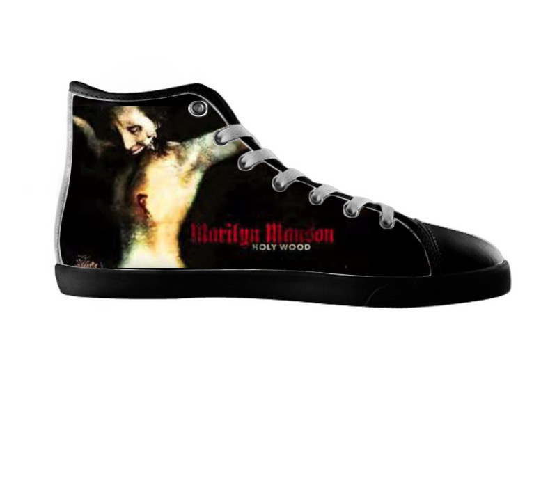 Marilyn Manson Converse Shoes