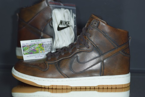 new product 0e22f 1c641 Size 9   DS Nike Dunk LUX Burnished SP QS Brown Leather 747138-221 on  Storenvy