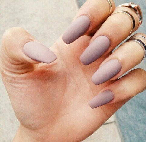 Matte Nail Polish Nude Brown On Storenvy