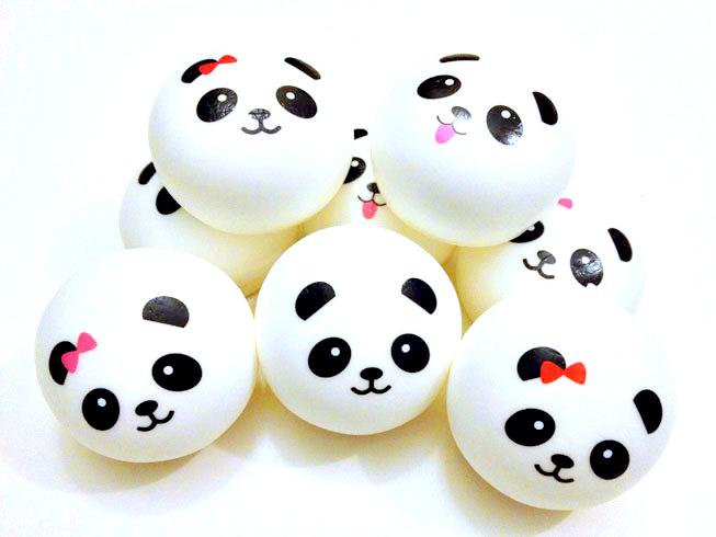jumbo kawaii panda squishy