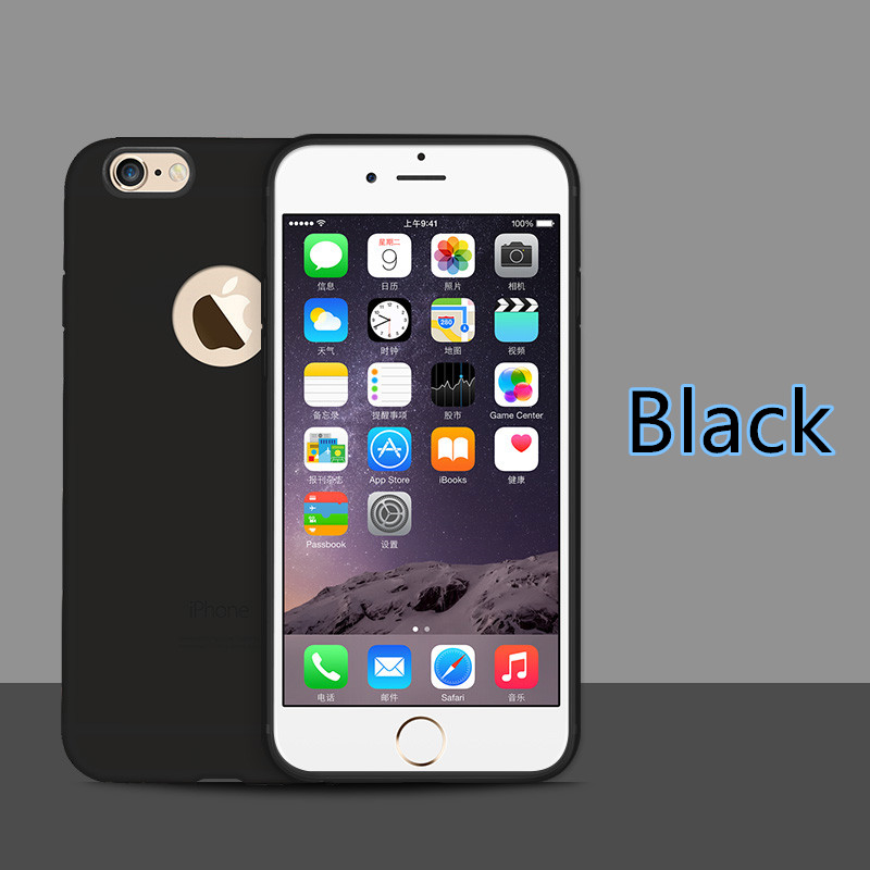 dd8a451236593 Cheap black 2015 new silicone iphone 6 and 6 plus cases or covers ips624  small