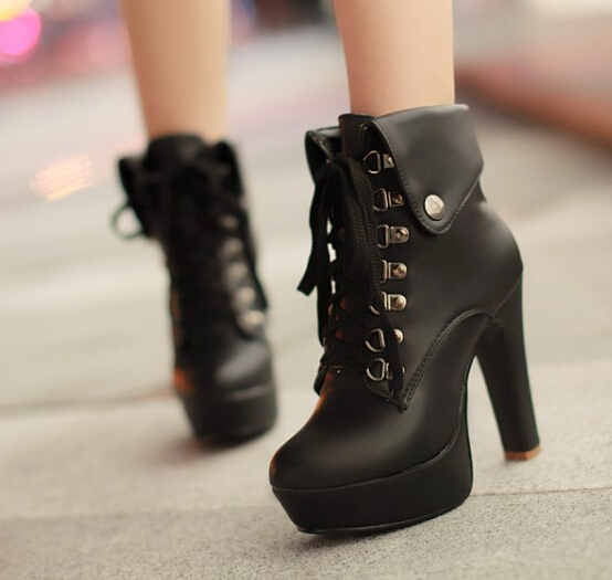 b91049c980b Fashion cute heels martin boots from Fashion Kawaii [Japan & Korea]