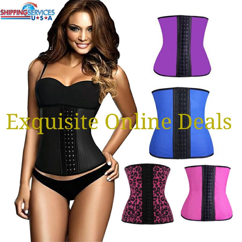 c1e1a8e199c Black latex waist training corset · Exquisite Curves Boutique ...