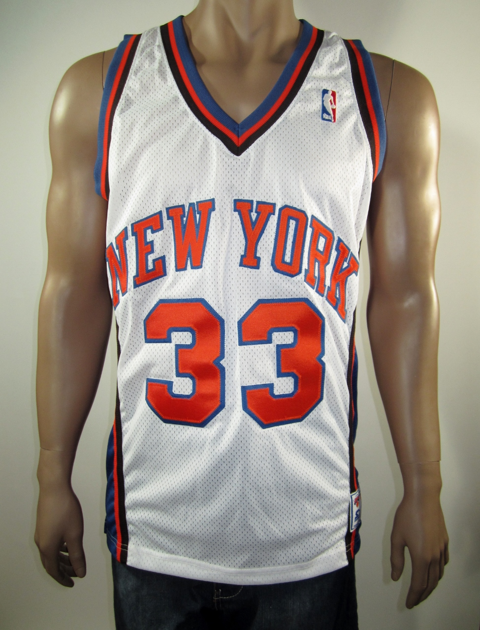 best service 7cfa5 d5c00 Patrick Ewing New York Knicks Authentic Starter Jersey 46 NWT from DFRNSH8