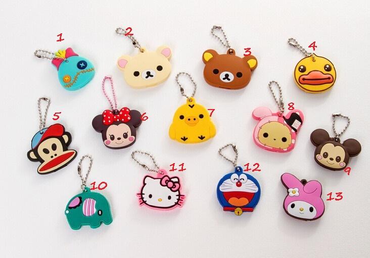 Image of: Color Background Cute 20kawaii 20animals 20key 20covers4 Original Storenvy Cute Kawaii Animals Key Covers On Storenvy