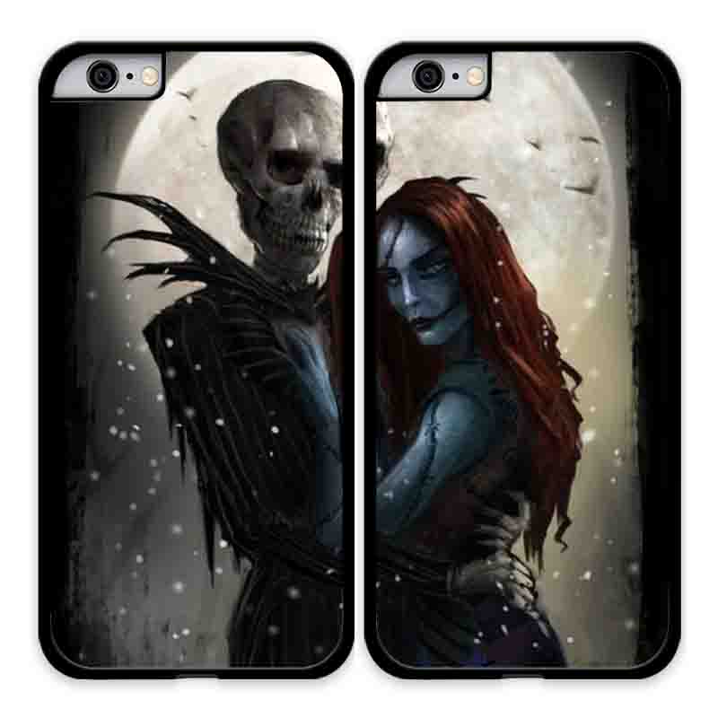 Nightmare Before Christmas Phone Case.2 Pcs Nightmare Before Christmas Jack And Sally Lovers Couples Phone Case Covers For Apple Iphone And Samsung Galaxy Note Sold By Love Panda