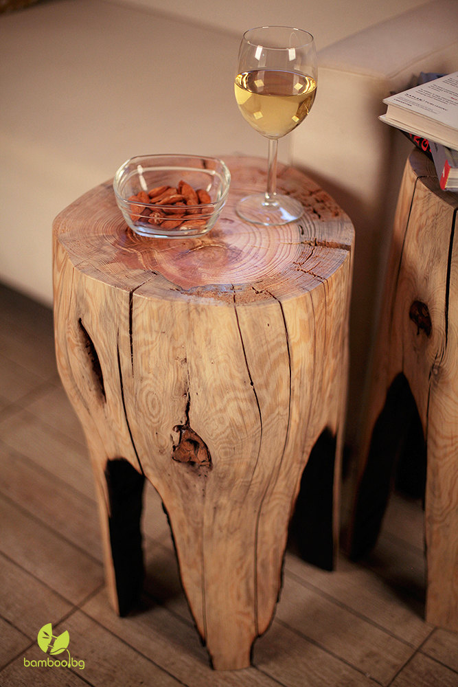 Incredible Coffee Table Tree Stump Stool Reclaimed Wood Wooden Furniture Side Table Wood Furniture Rustic Wood Log Pine Table Stool End Table Home Interior And Landscaping Ymoonbapapsignezvosmurscom