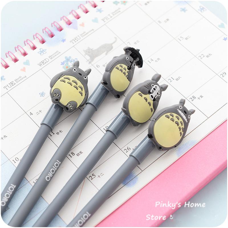 my neighbor totoro gel pen free shipping cute hayao miyazaki my
