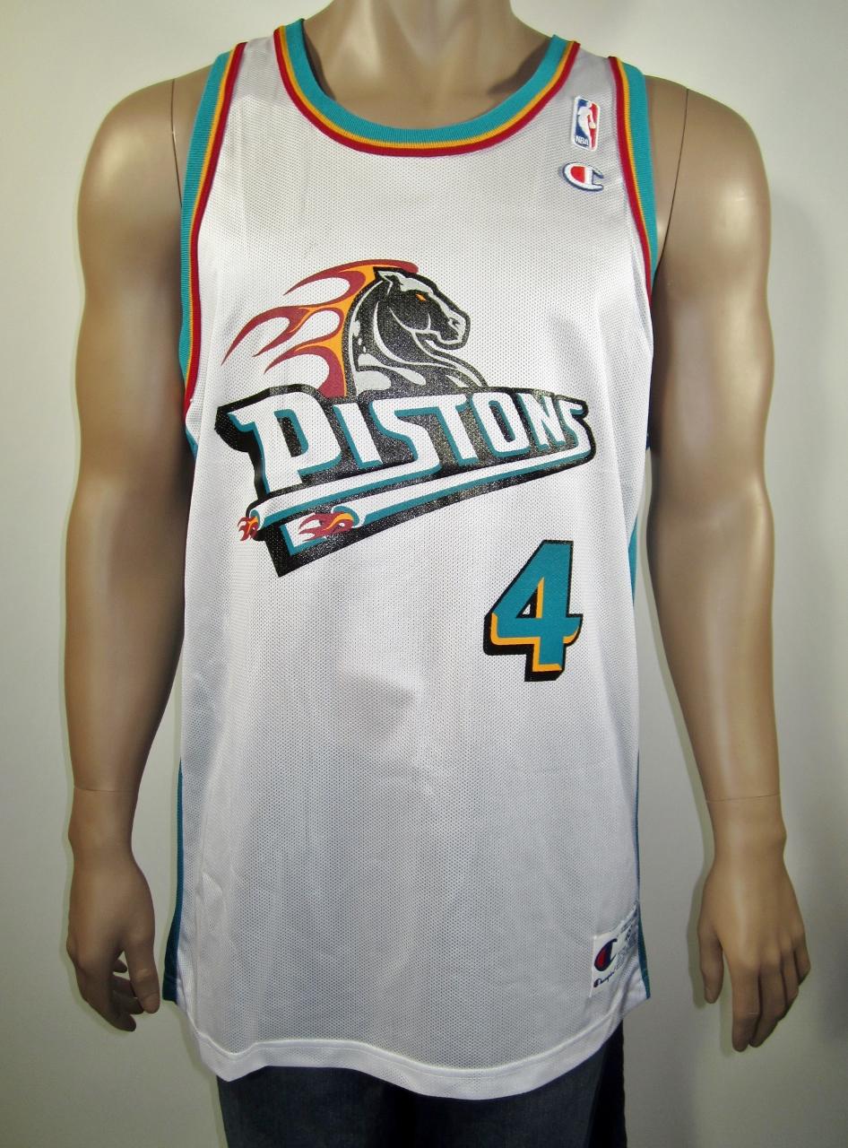 63060cb09a0 Joe Dumars Detroit Pistons Champion Jersey 48 NWT · DFRNSH8 · Online ...