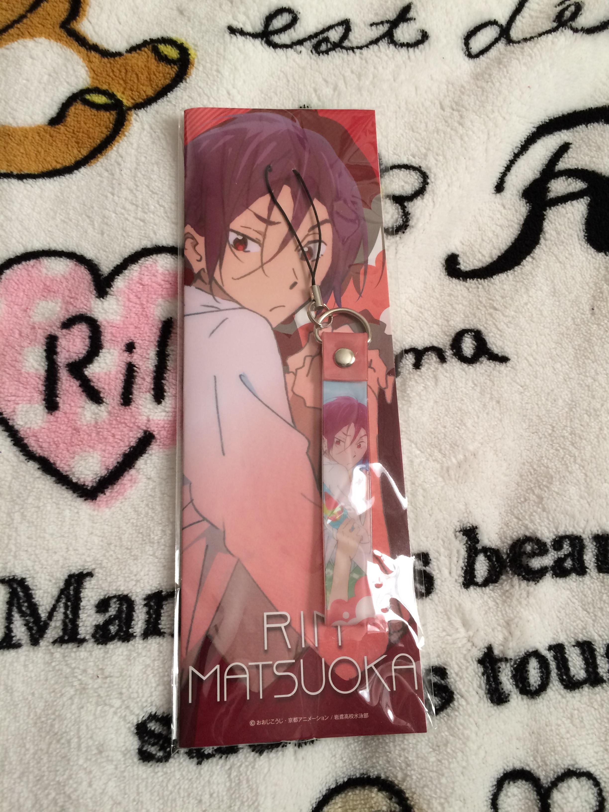 Free Iwatobi Swim Club Rin Matsuoka Phone Wrist Strap On Storenvy Bear Pink Img 3079 Original
