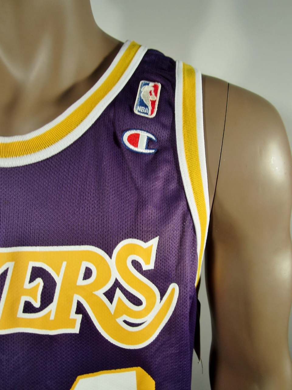 ae94d1c90cfc ... Shaquille O Neal Los Angeles Lakers Champion Jersey NWT - Thumbnail ...