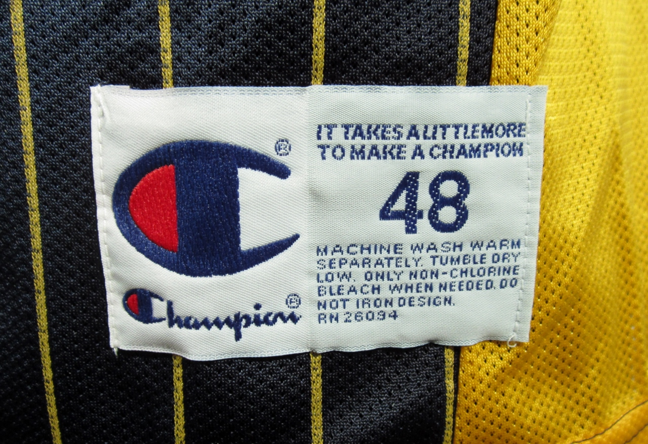 Reggie Miller Indiana Pacers Champion Jersey 48 NWT on Storenvy 8b079a055