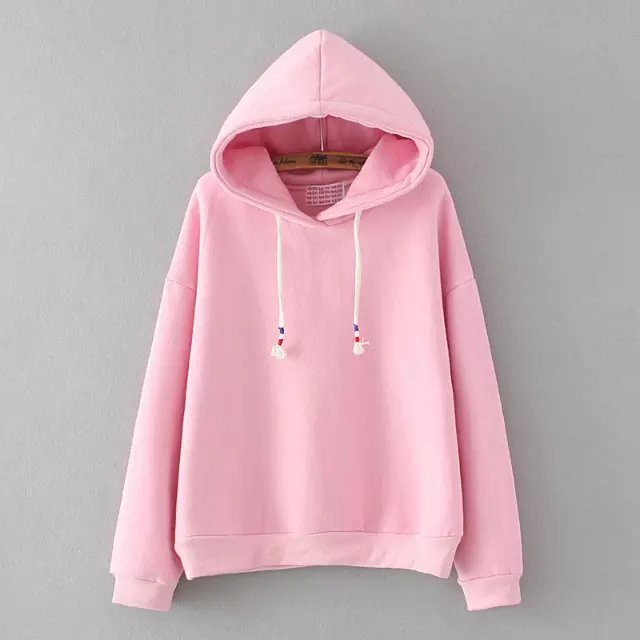 FREE SHIPPING Cute Pastel Color Hooded Sweater from Moooh!!
