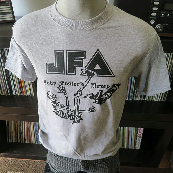 Jody Fosters Army Jfa Band T Shirt Heather Gray On Storenvy